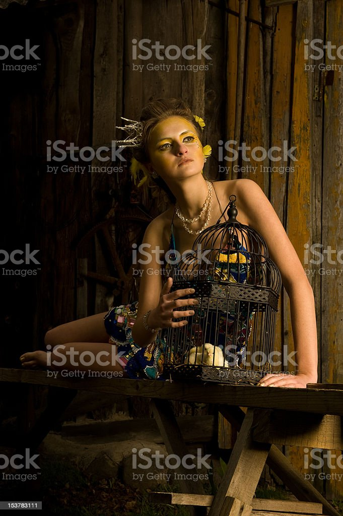 Young Girl Woman Portrait royalty-free stock photo