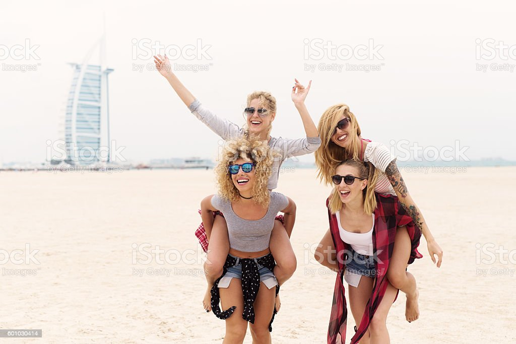 Young girls. stock photo
