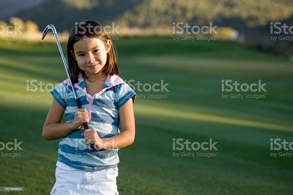 Young Golfer royalty-free stock photo
