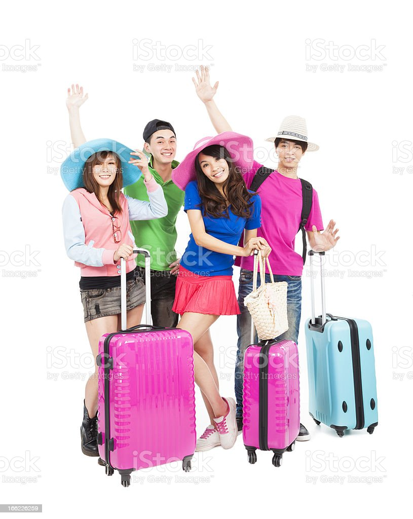 young group enjoy summer vacation and travel royalty-free stock photo