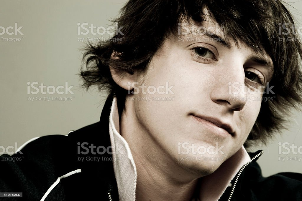 young guy royalty-free stock photo