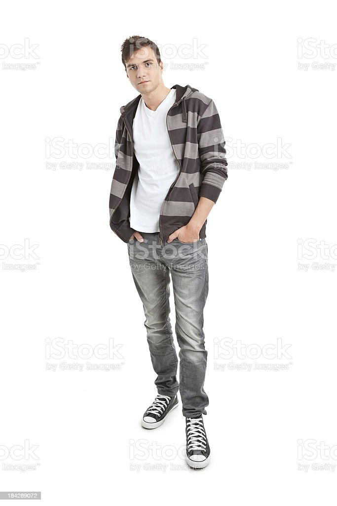 young handsome man royalty-free stock photo