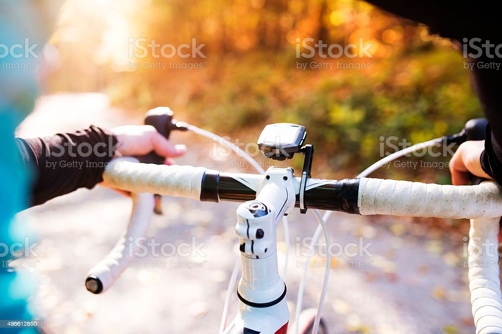 Young handsome sportsman stock photo