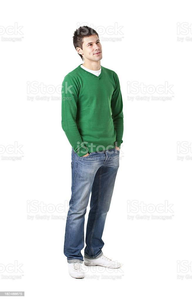 young handson man royalty-free stock photo