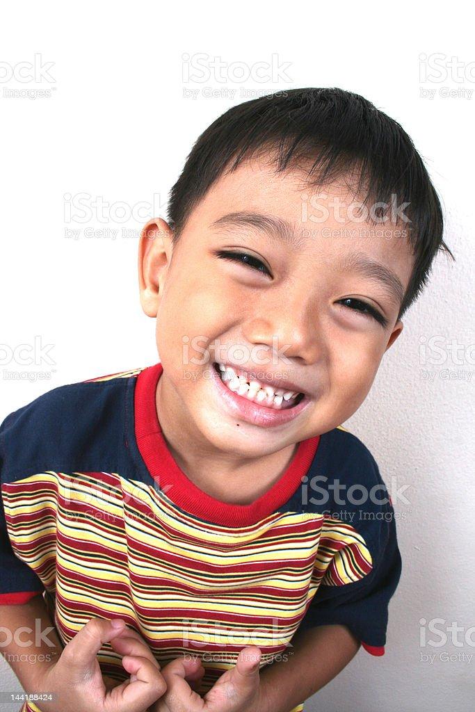Junge happy Jungen Lizenzfreies stock-foto
