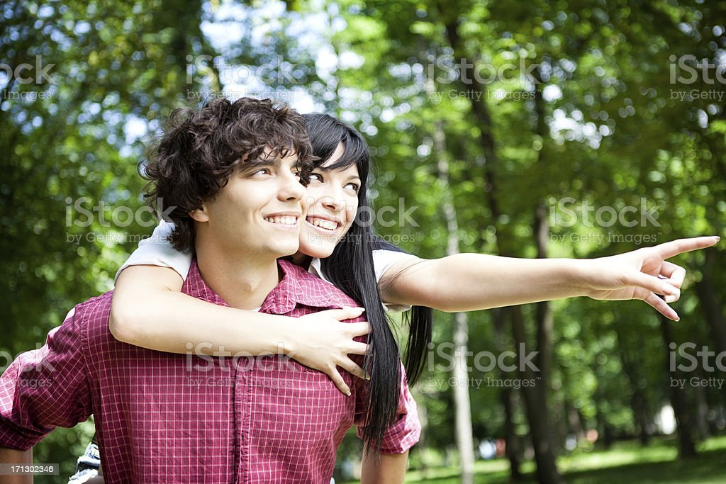 Young Happy Couple stock photo