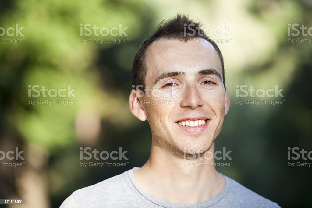 Young Happy Man royalty-free stock photo