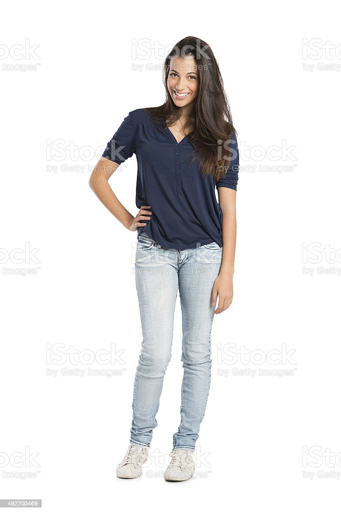 Young Happy Woman stock photo