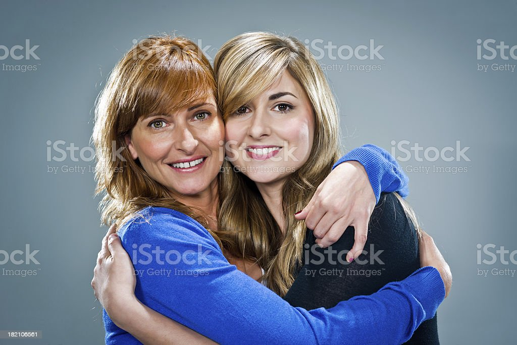 Young Happy Women Smiling royalty-free stock photo