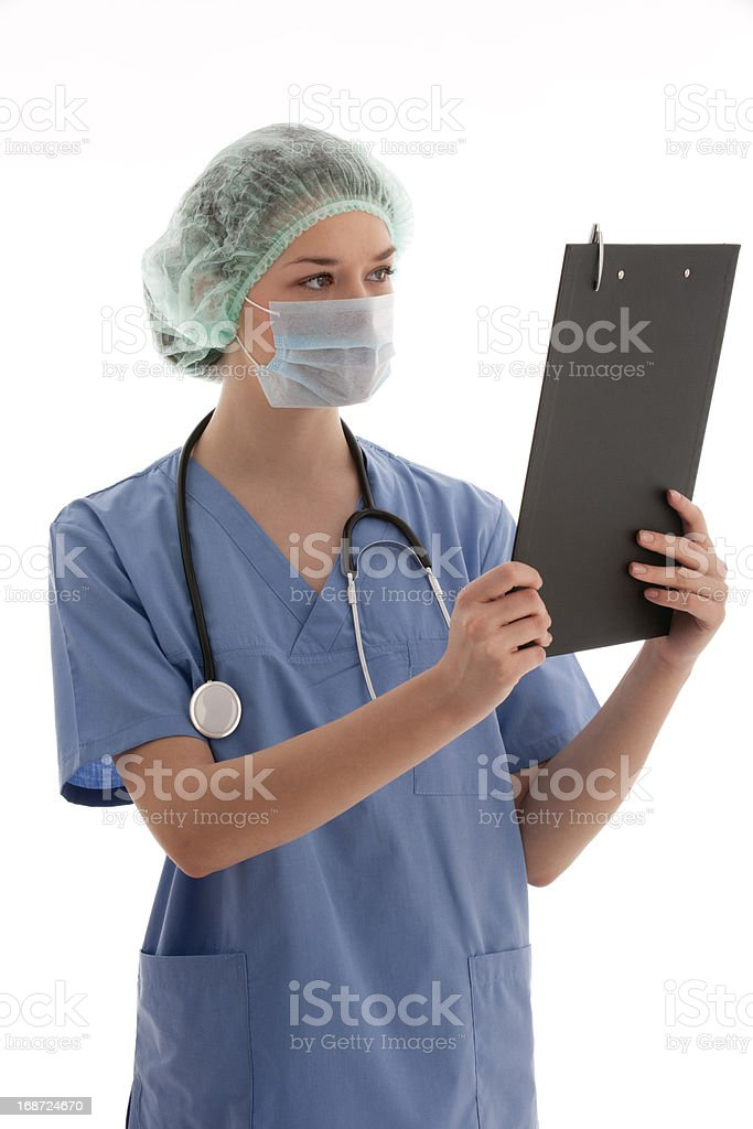 Young Healthcare Worker royalty-free stock photo
