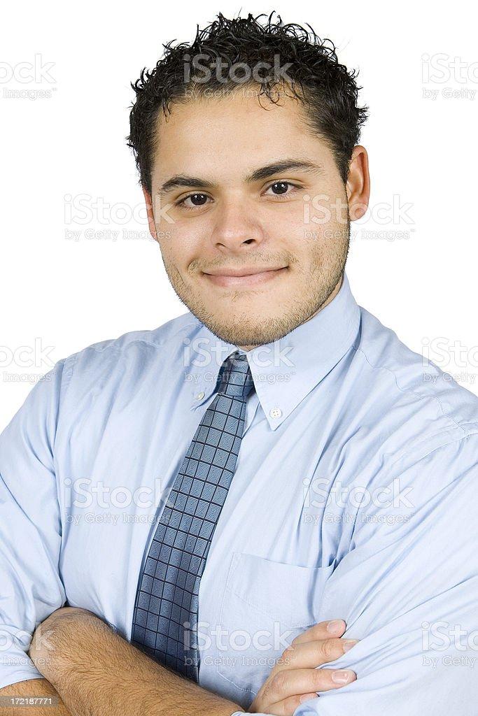 Young Hispanic Business Executive royalty-free stock photo