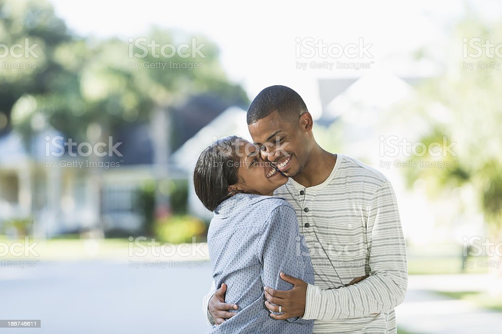 Young Hispanic couple royalty-free stock photo