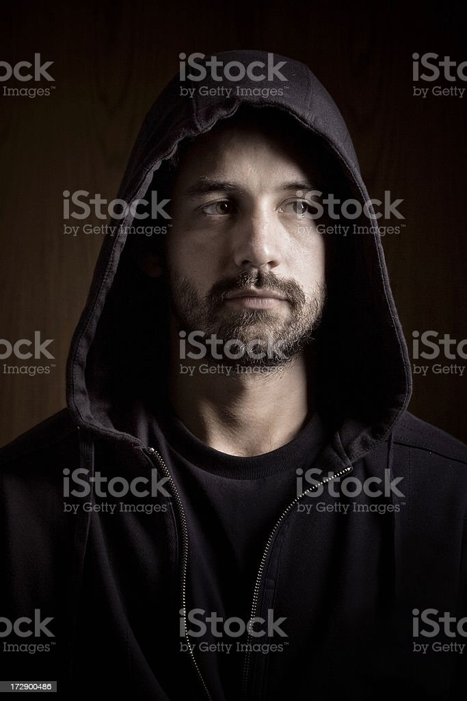 young hispanic guy royalty-free stock photo