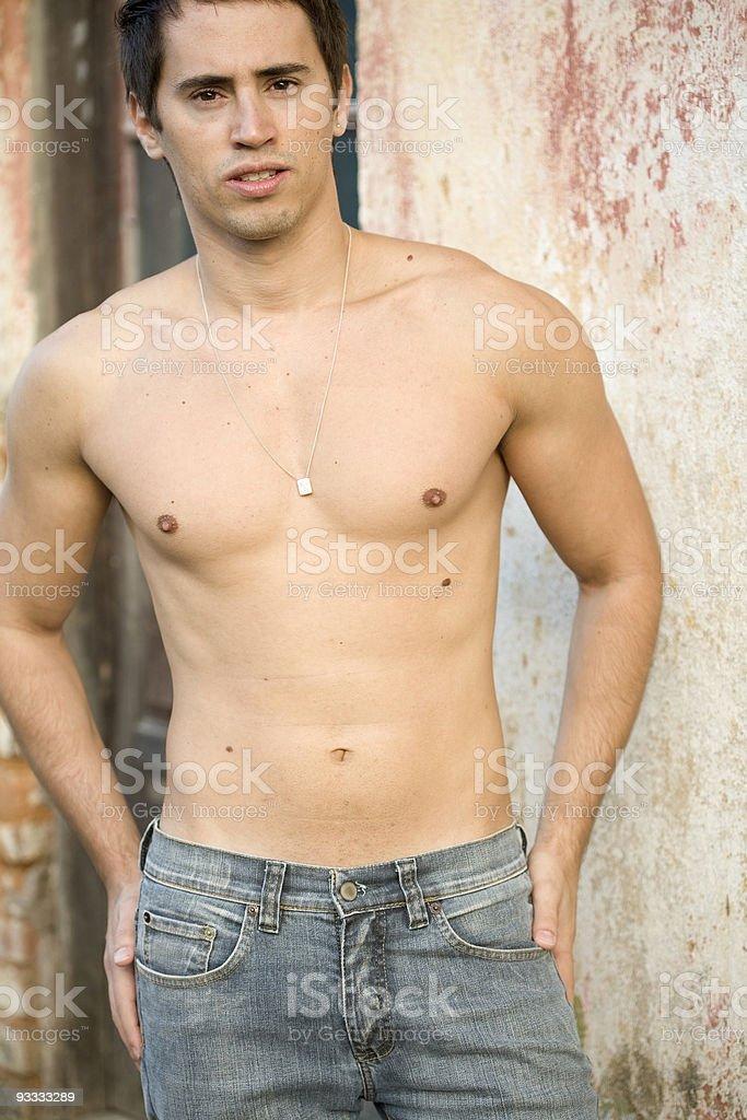 Young Hispanic Model royalty-free stock photo