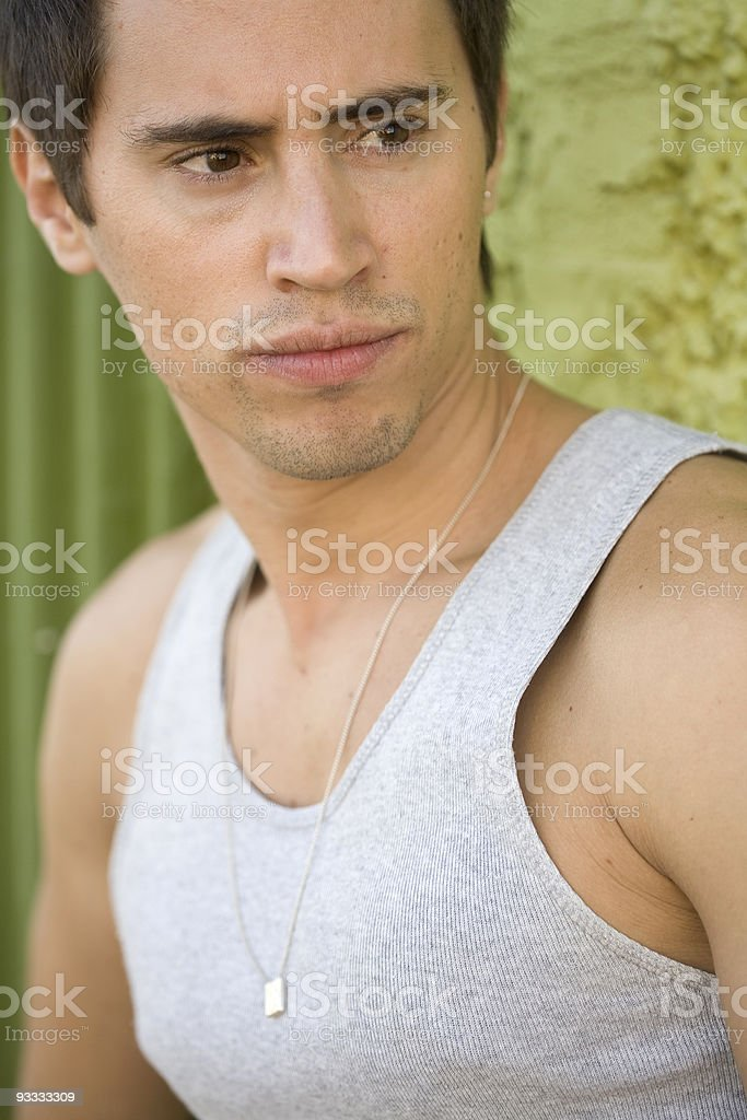Young Hispanic Model royalty-free stock photo