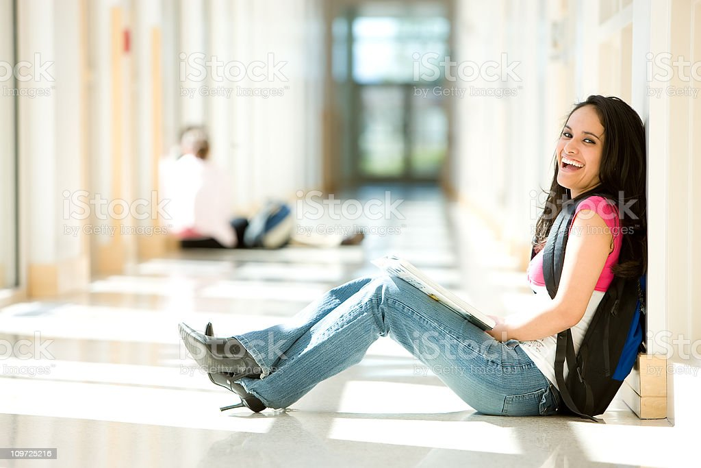 Young Hispanic Student royalty-free stock photo
