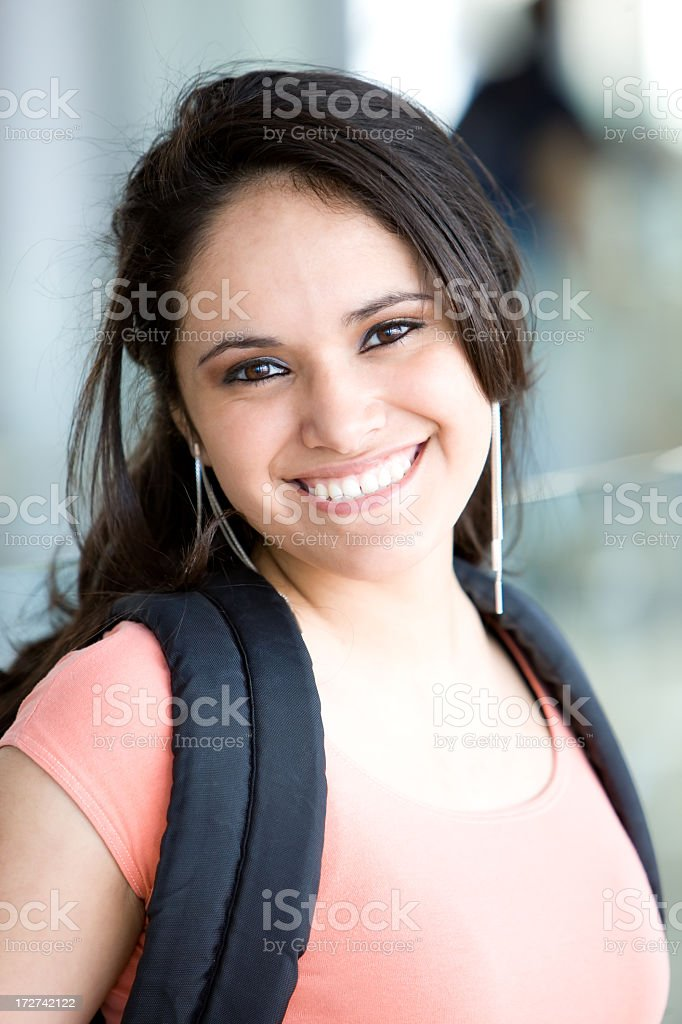 Young Hispanic Student stock photo