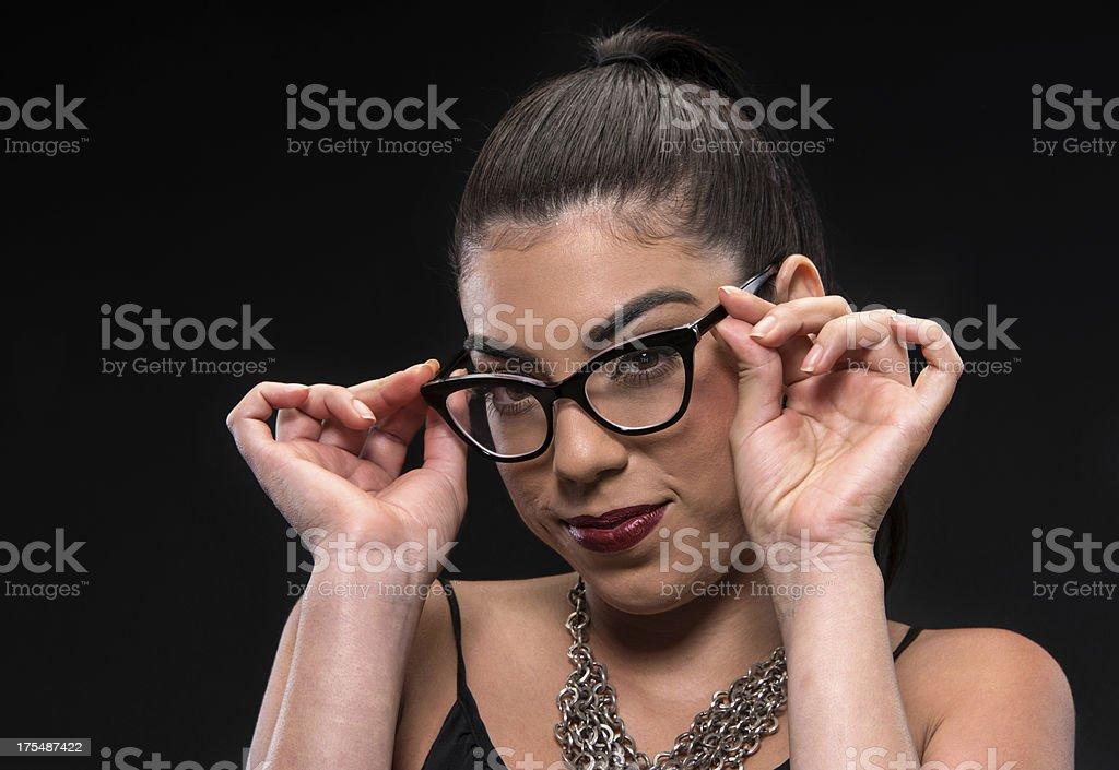 Young Hispanic Woman (Real People) stock photo