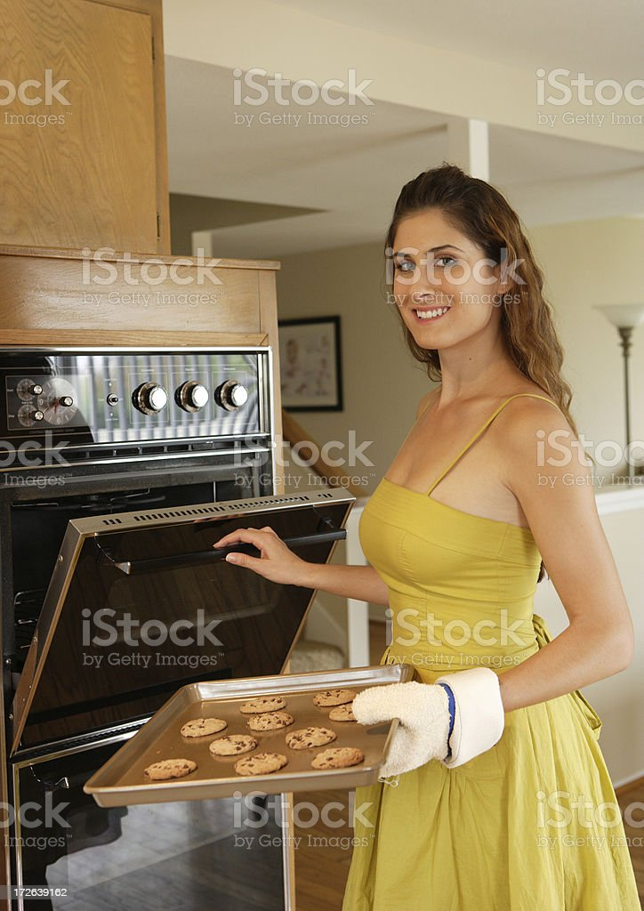 Young Homemaker royalty-free stock photo