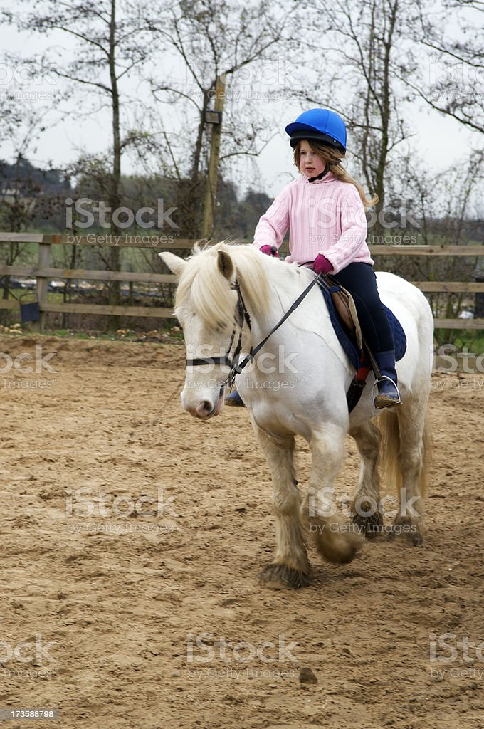 Young horserider royalty-free stock photo