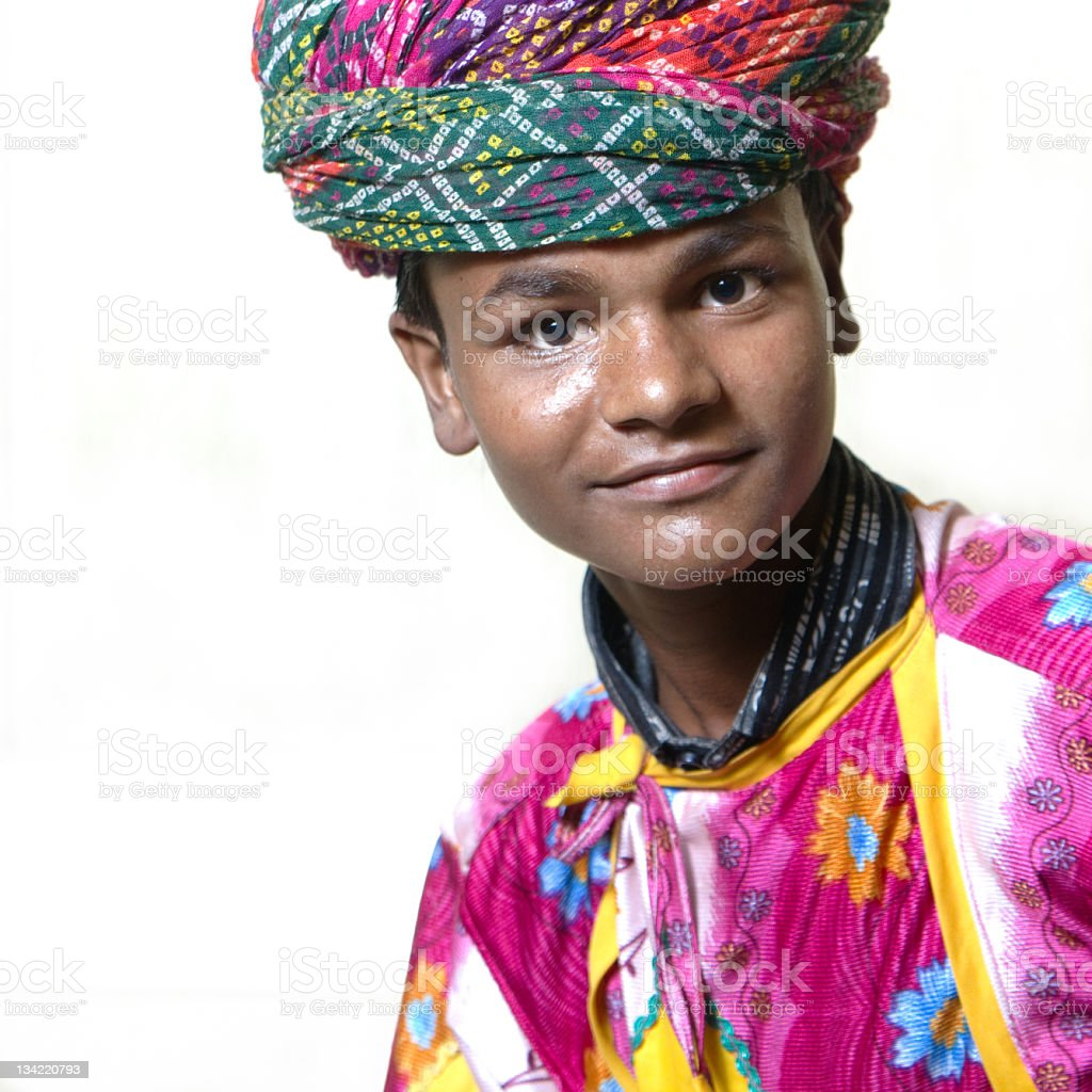 Young Indian Boy royalty-free stock photo