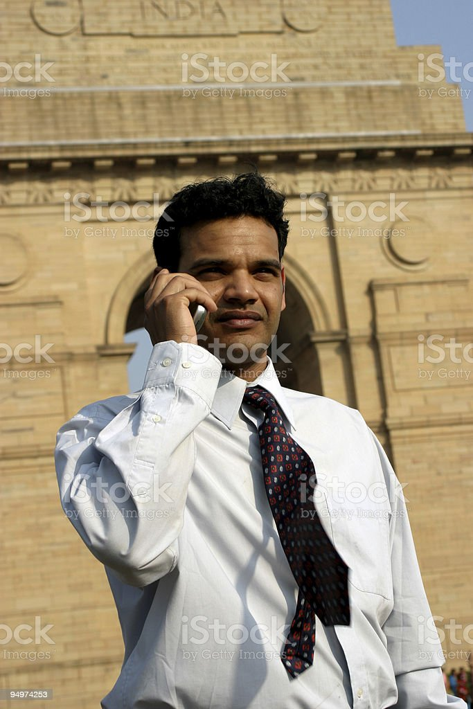 young indian business man royalty-free stock photo
