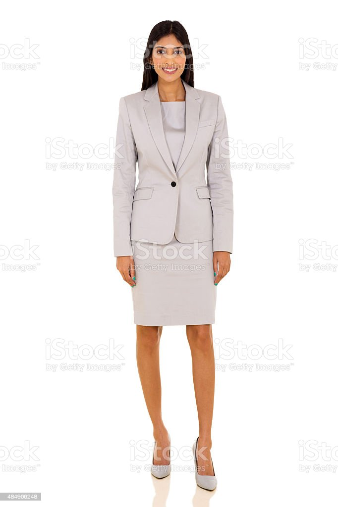 young indian businesswoman stock photo