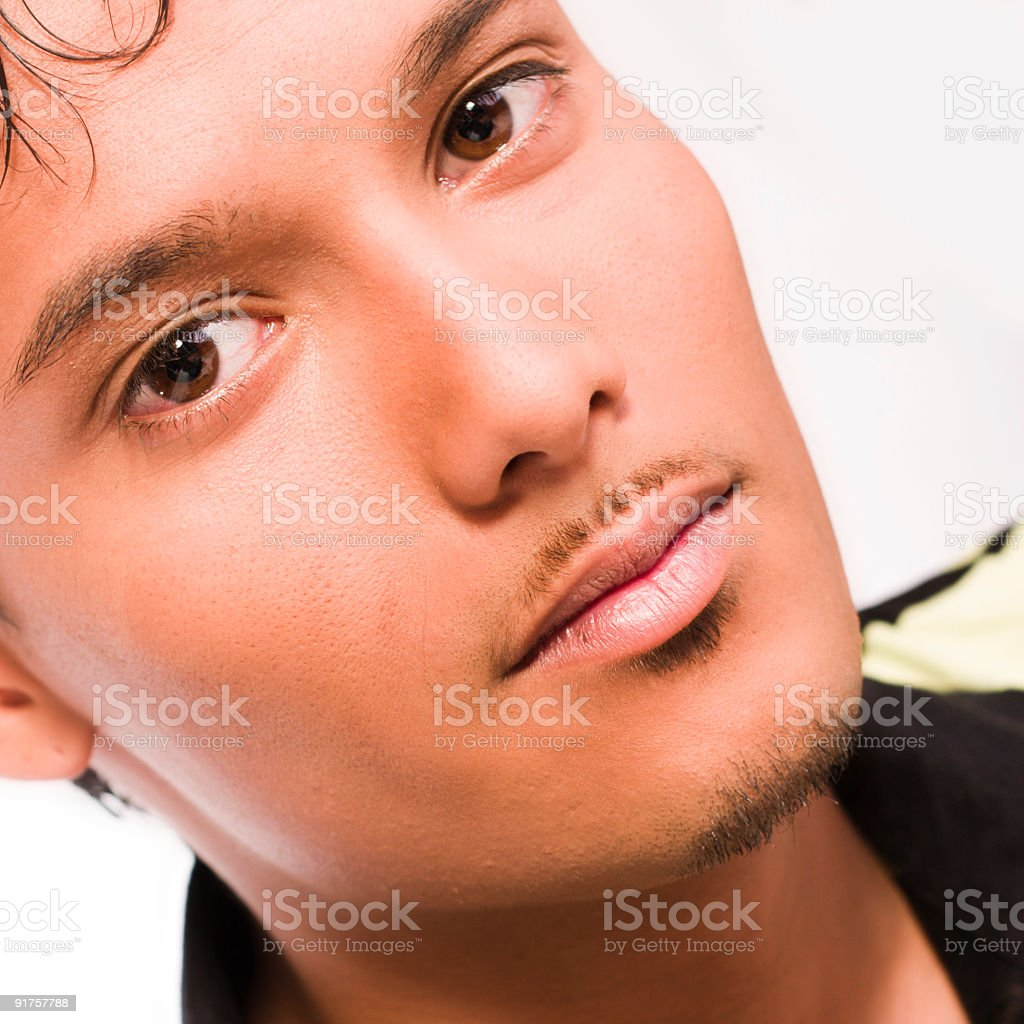 Young indonesian guy royalty-free stock photo