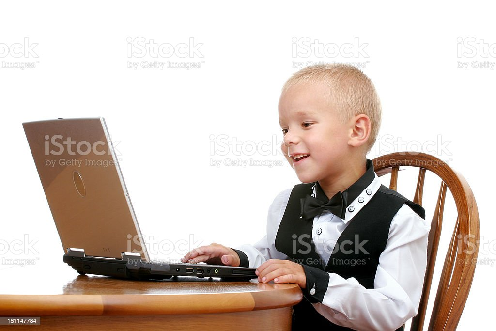 Young IT professional royalty-free stock photo