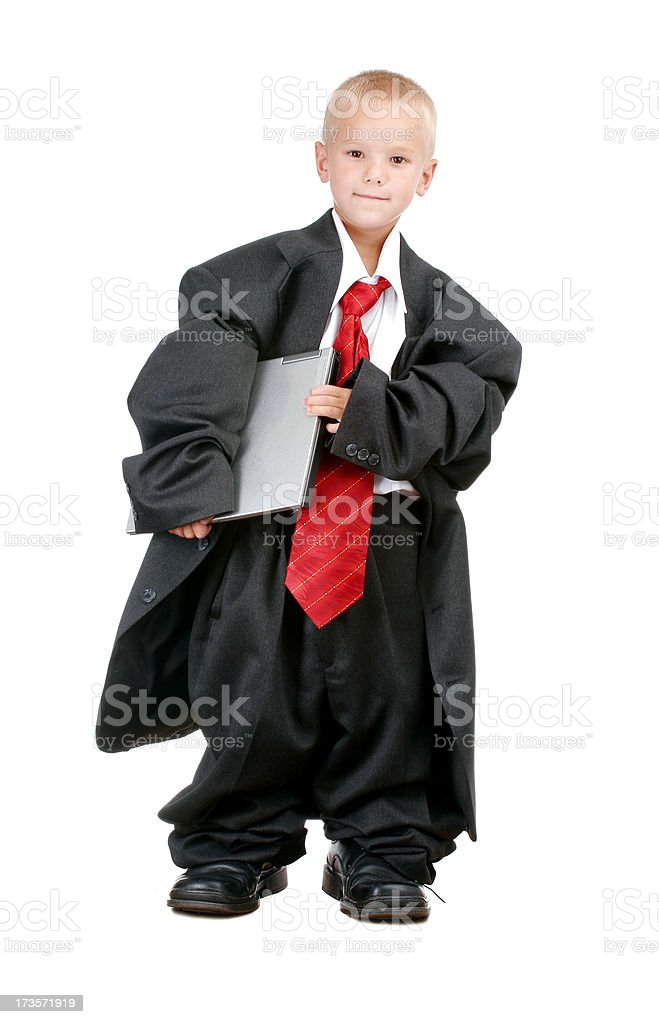 Young IT-professional royalty-free stock photo