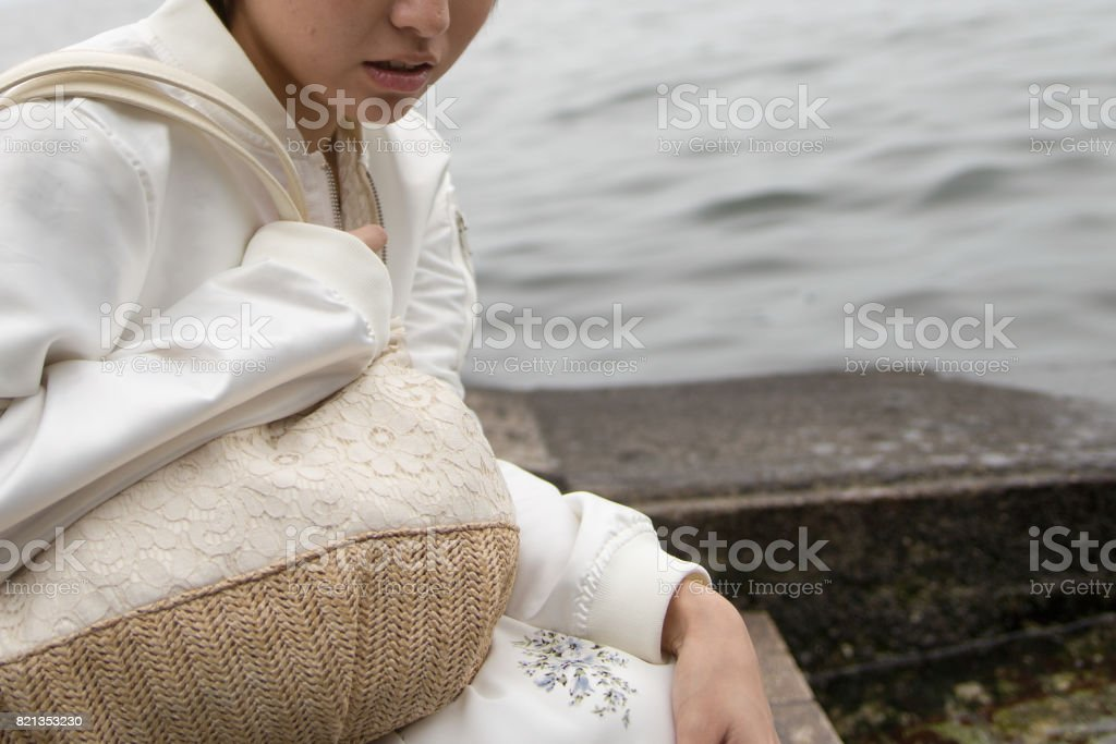 Young Japanese women · Body parts stock photo