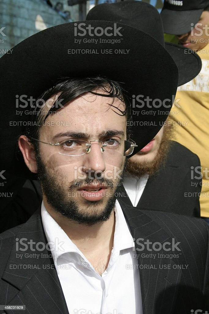 Young Jew royalty-free stock photo