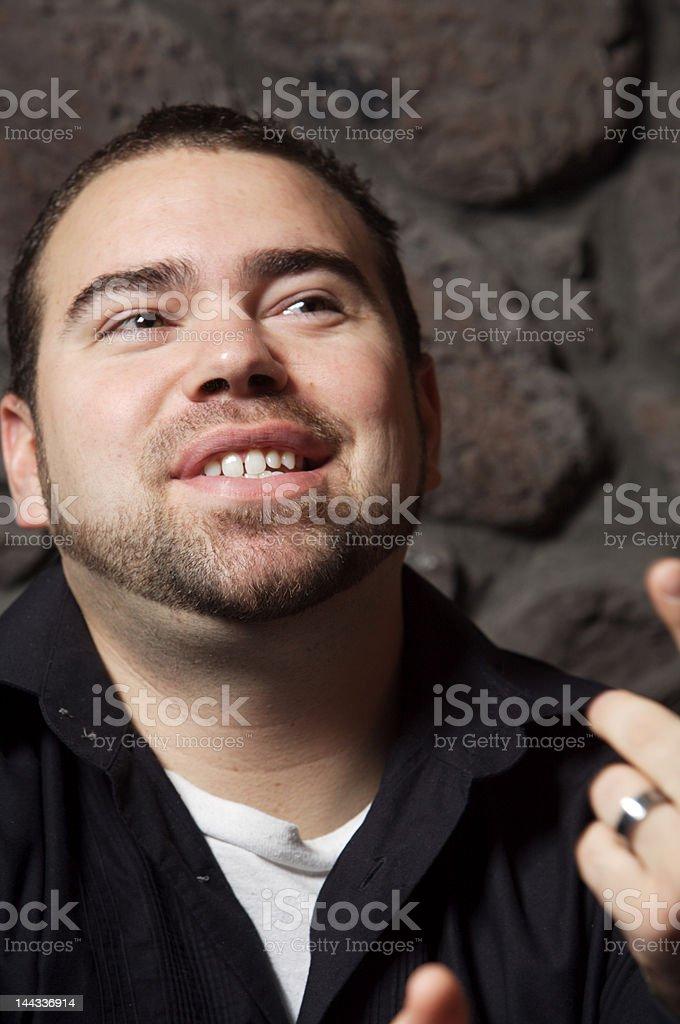 Young Jokester stock photo