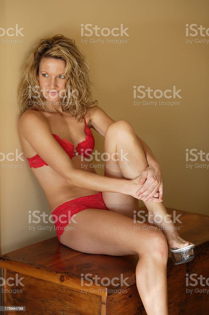 young lady 7 royalty-free stock photo