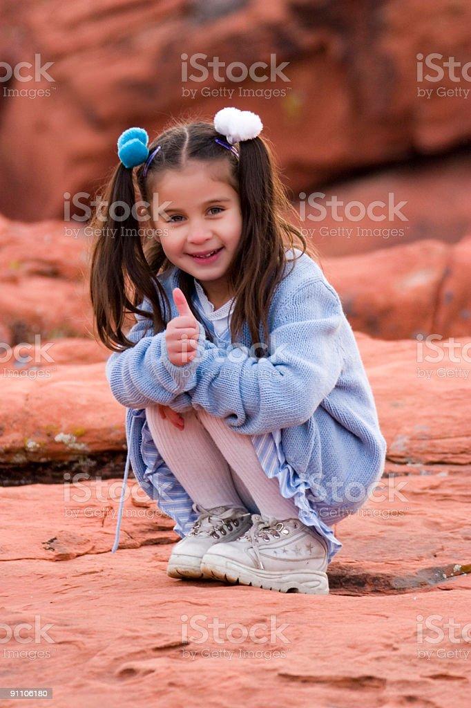 Giovane ragazza Latino foto stock royalty-free