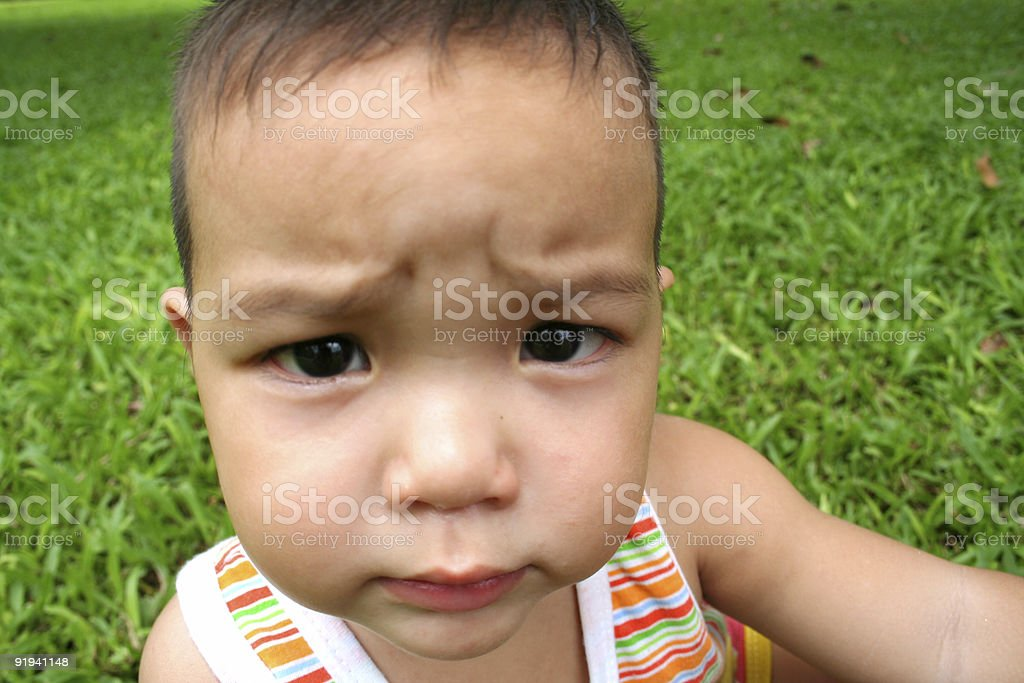Young little boy 1 royalty-free stock photo