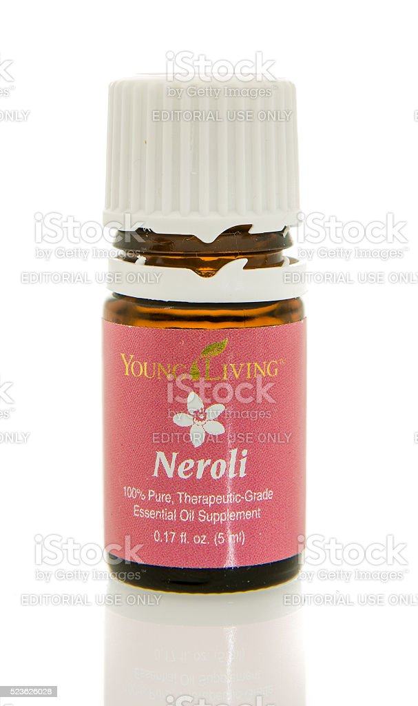 Young Living Essential Oil stock photo