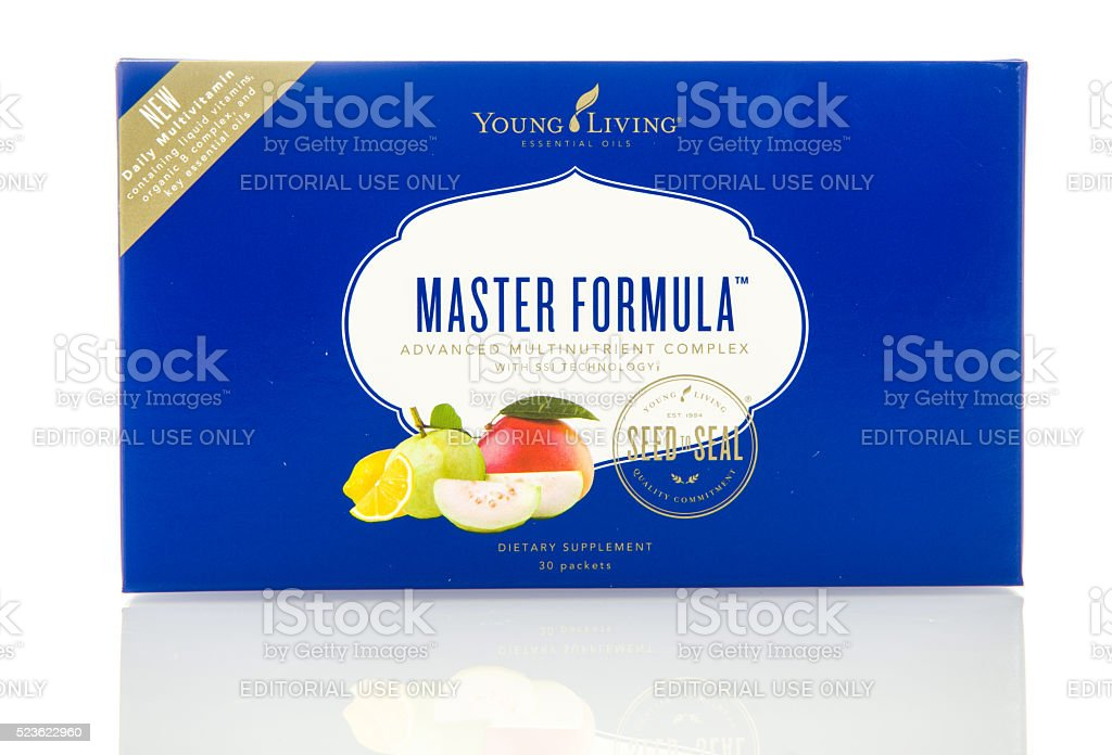 Young Living Multivitamins stock photo