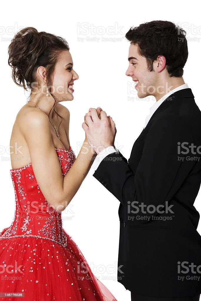 Young Love royalty-free stock photo