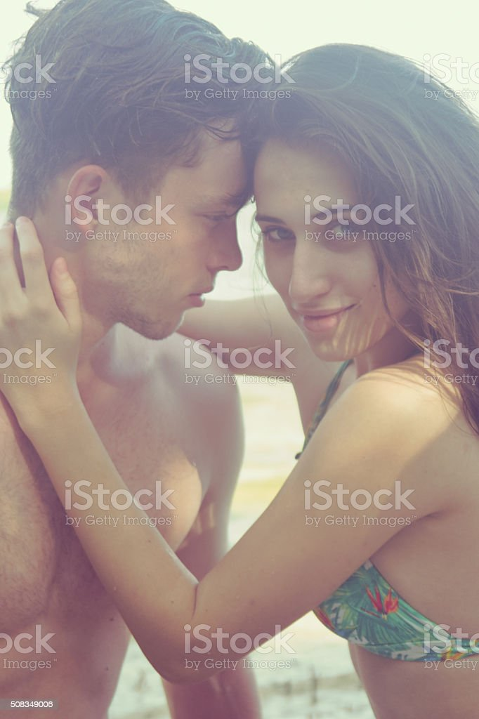 Young Love stock photo