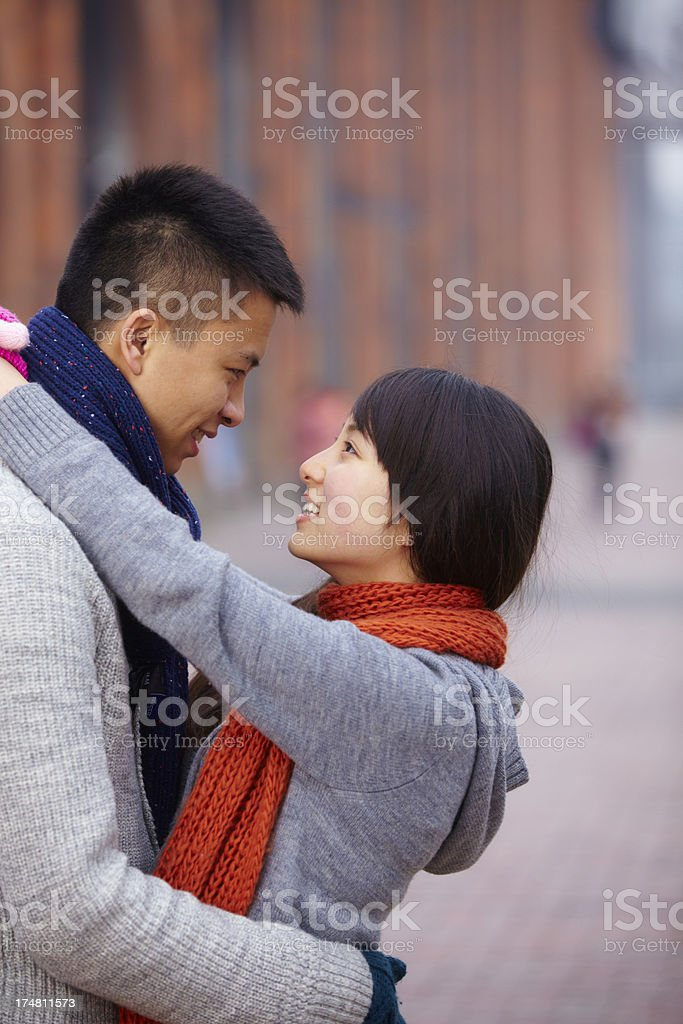 young lover together royalty-free stock photo