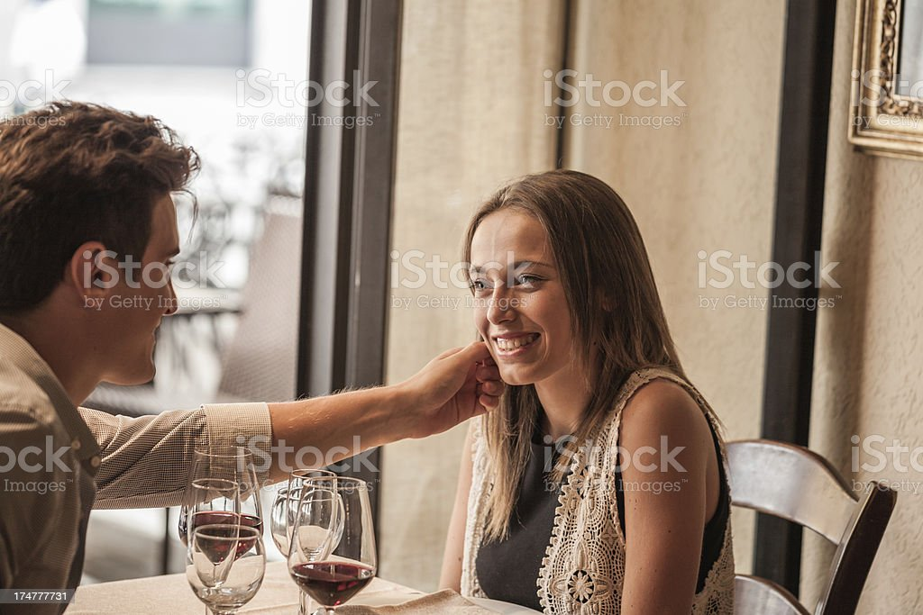 Young Lovers royalty-free stock photo