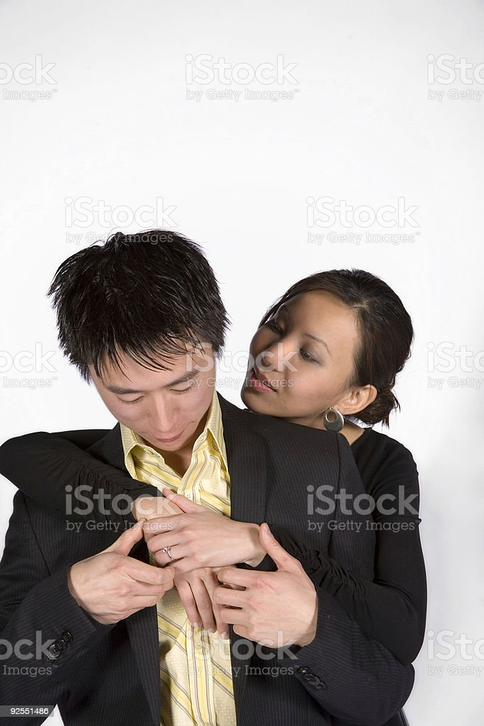 Young Loving Couple. royalty-free stock photo