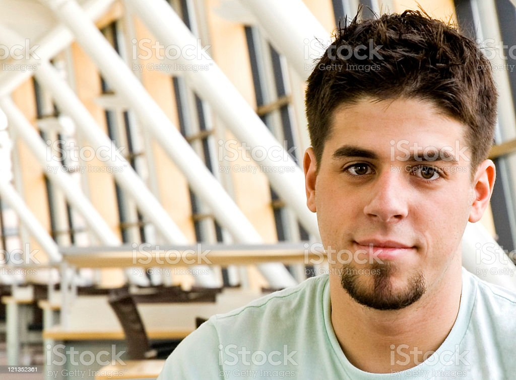 Young Male College Student royalty-free stock photo