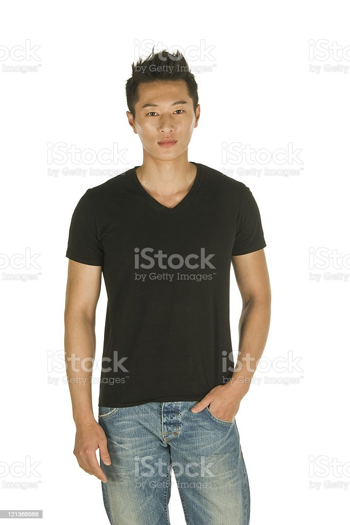 Young Male stock photo