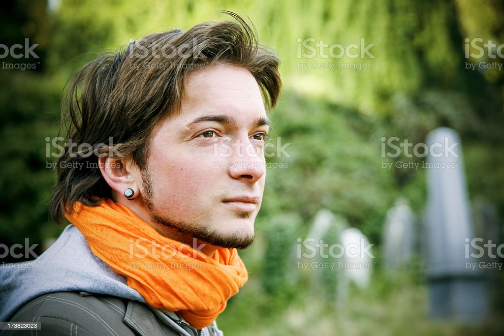 Young male royalty-free stock photo