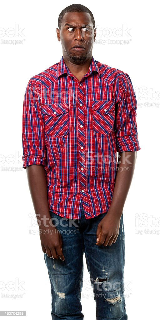 Young Male Portrait royalty-free stock photo