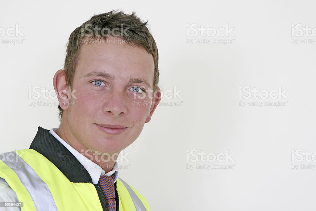 young male professional royalty-free stock photo