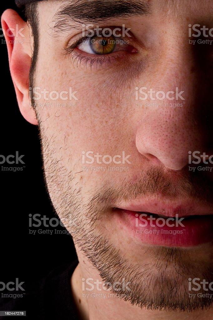 Young Man Closeup royalty-free stock photo