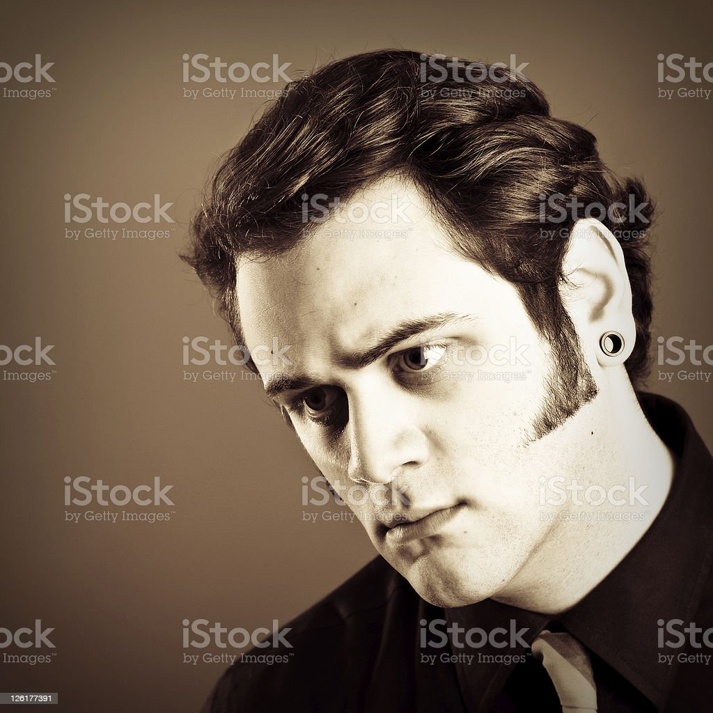 Young Man Fashion Portrait royalty-free stock photo